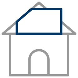Rear Dormer Loft Conversion icon